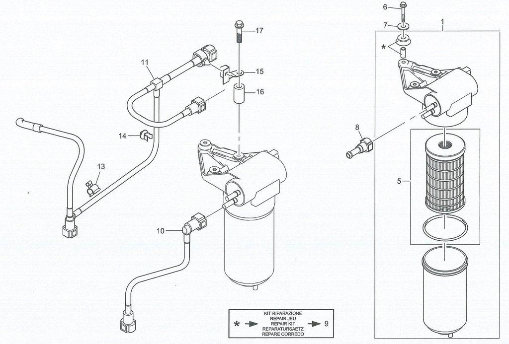 Filter Jlg Fuel 7027245